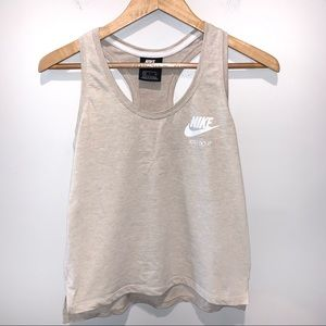Nike Swoosh Logo Athletic Tank Top